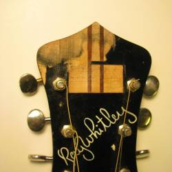 1939 Gibson Recording King Ray Whitley Headstock Before