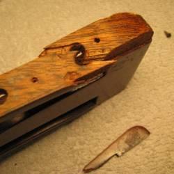 1921 Martin 0-28 Broken Headstock