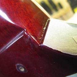 1962 Gibson SG Les Paul Neck Joint Break