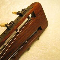 1921 Martin 0-28 Headstock Repaired